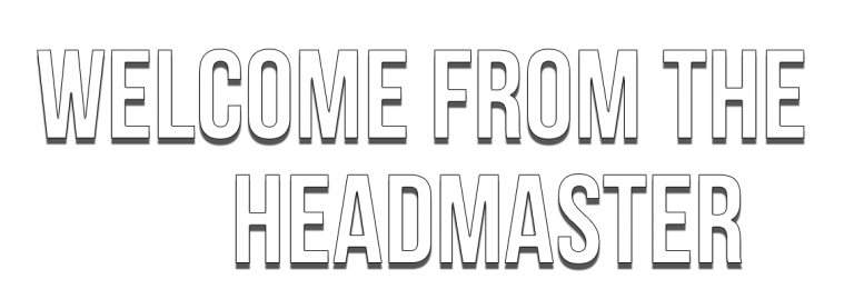welcome-from-the-headmaster