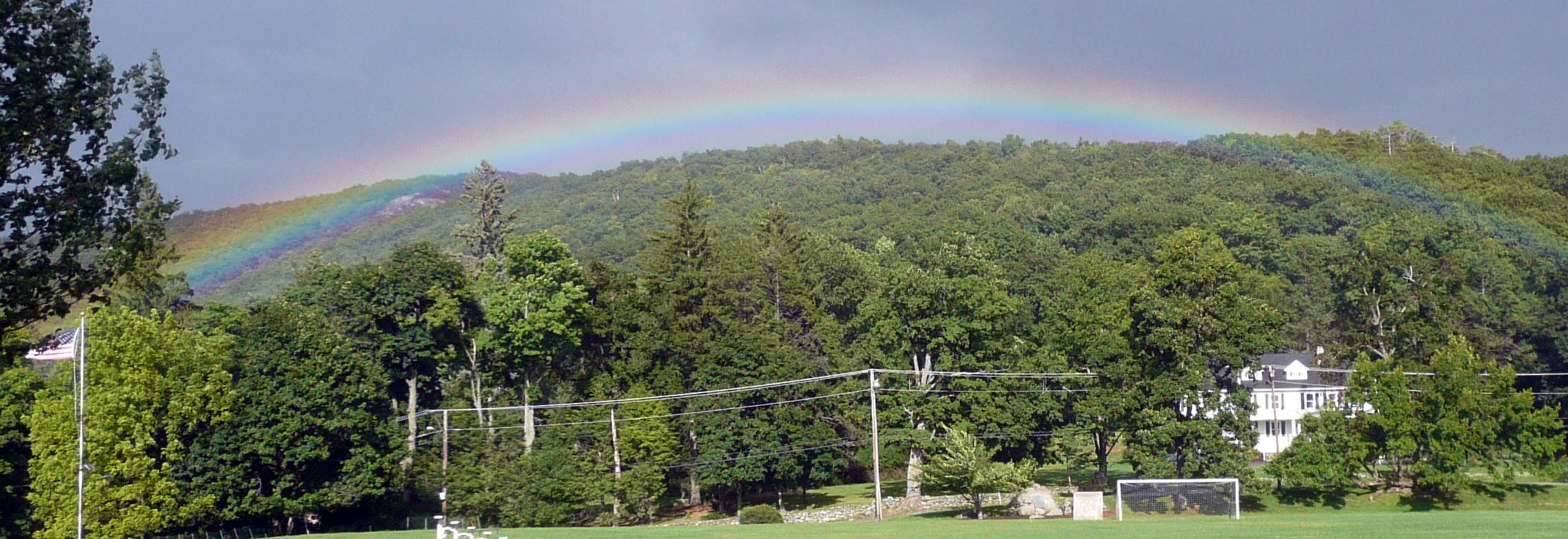 12-13 rainbow over Spy Rock