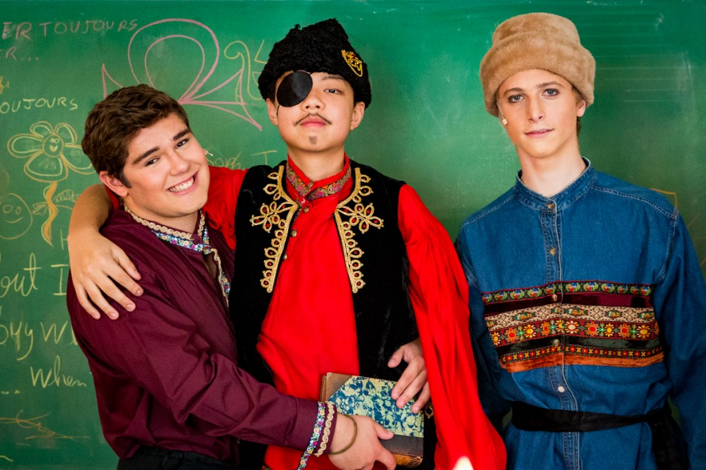 Cast members of SKS' fall production of Fools