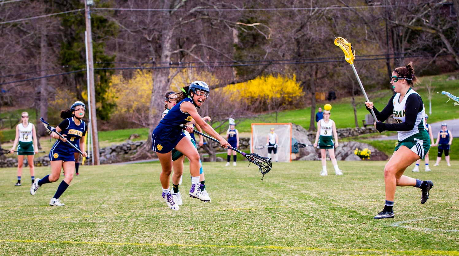 Girls varsity lacrosse against Forman School