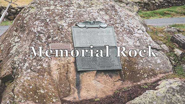 memorial rock